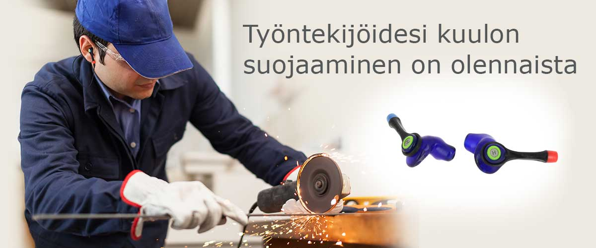 Työntekijöidesi kuulon suojaaminen on olennaista